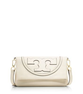 Tory Burch All-t Suki Fold Over Messenger - T Burch All Tory