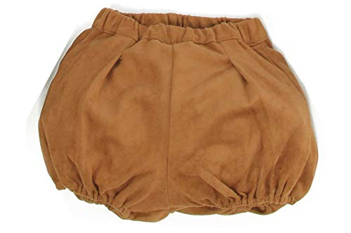 Silky Toes Baby Bloomer Girls Boys Suede Blend Shorts for Winter -