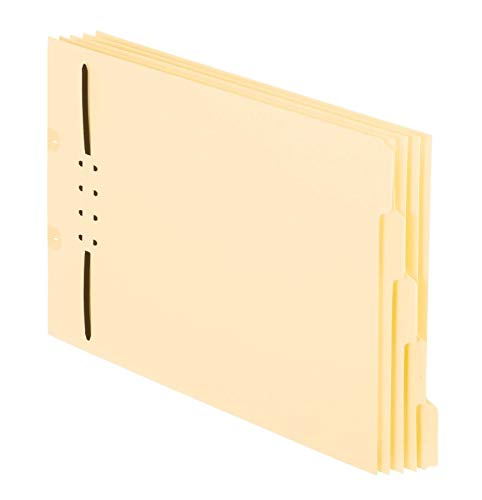 Pendaflex End-Tab Folder Dividers with Fasteners, 8 1/2