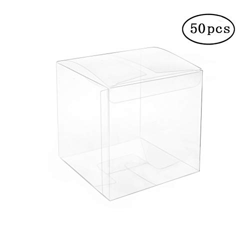 Clear Box 2x2x2 inch Pack of 50 -
