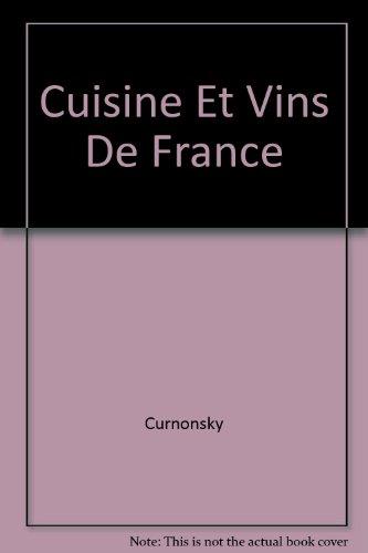 Cuisine et Vins de France.