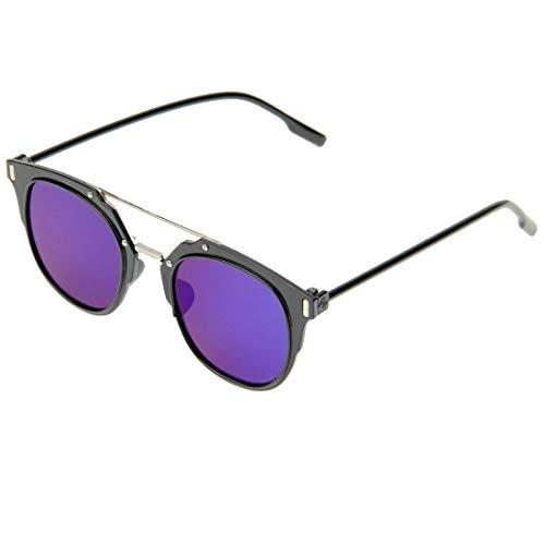 Objektiv U400 Sonnenbrillen Gläser Blue Ac Metall Schutz Pc Feld Seeksung U 58xCUq