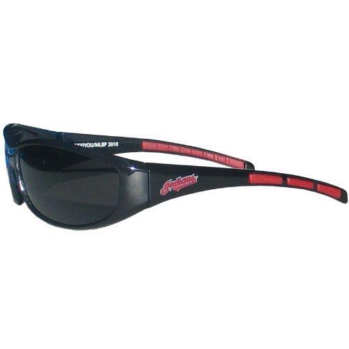 MLB Cleveland Indians 3-Dot Wrap Sunglasses