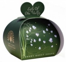 The English Soap Company Guest Soaps (Lily of the Valley) (English Lily)