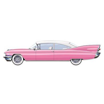 Beistle 54216 Jointed 50's Cruisin' Car, 6-Feet -
