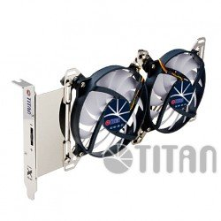 Evercool Titan TTC-SC07TZ Dual X Holder VGA Fan