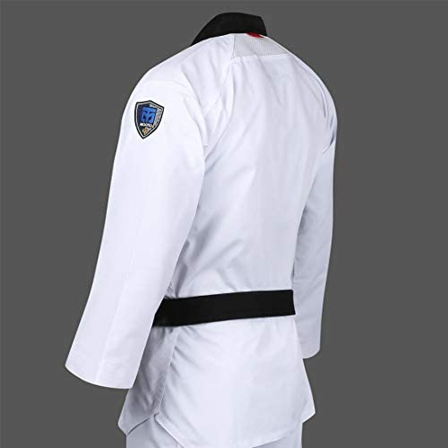 Taekwondo Demo Team Jacket New Taekwondo Demo Team Uniform Jacket Only-BK w//YL