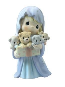 - Precious Moments Bearing Gifts of Great Joy Nativity Figurine 112863