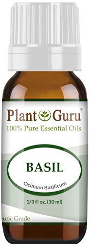 Basil Essential Oil 10 ml 100% Pure Undiluted Therapeutic Grade. ()