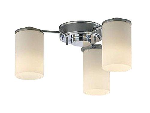 コイズミ照明 シャンデリア MODARE 白熱球60W×3灯相当 クロムメッキ AH39675L B00KVWMYGK 16133