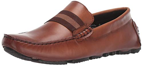 Steve Madden Men's BREO Loafer, Cognac Leather, 10.5 M US