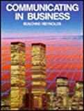 Communicating in Business, Buschini, Joseph, 0395360056