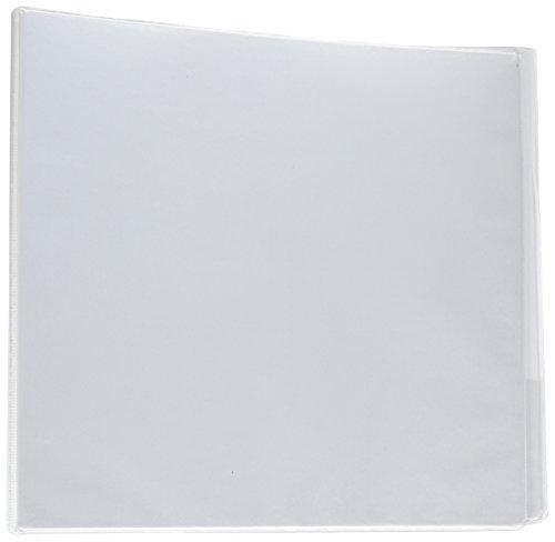 - Universal D-Ring Economy Vinyl View Binder, White (UNV20994PP)