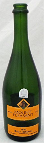 2005 Nlcs Game - Houston Astros 2005 Winning NLCS GAME 6 Champagne Bottle MLB Authenti MT00644503 - Other Game Used MLB Items