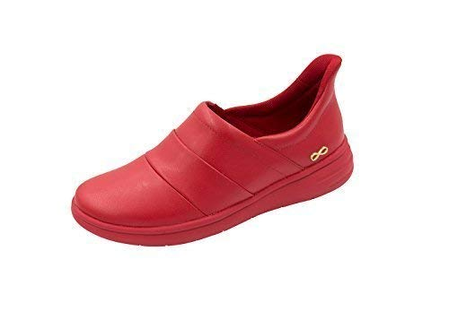 Infinity By Cherokee Women's Breeze Slip On Athletic Shoe Red/Red