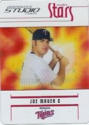Joe Mauer Studio - 2005 Studio Stars #22 Joe Mauer