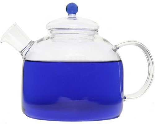 GROSCHE INDIGO Heatproof Glass Stovetop Water & tea Kettle 1750 ml 59 fl. oz