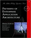 img - for Patterns of Enterprise Application Architecture 1st (first) edition Text Only book / textbook / text book