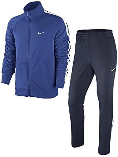 Nike Poly Knit TRK Suit - Chándal para hombre, color azul / azul ...