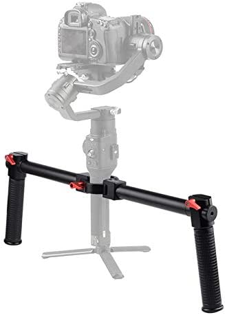 Dvluck Universal Joint Stabilizer Double Handle Hand Held Bracket Kit Professional Photography Accessories