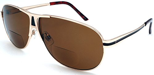 BiFocal Sun Readers Classic Aviator Reading Sunglasses - Gucci Sunglasses Carrera