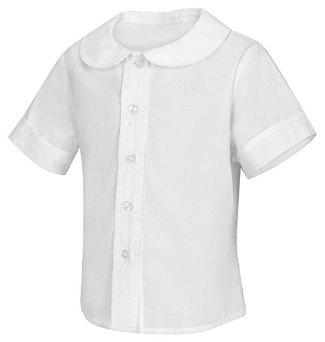 (CLASSROOM Little Girls' Toddler Peter Pan Blouse, White, 3T)