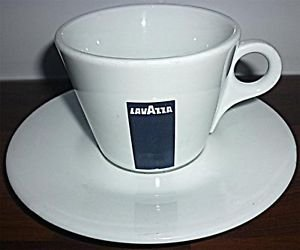 Lavazza Coffee - Standard Cup with Saucer (Set of 6 Cups ...