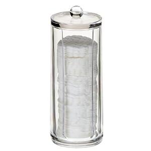 Luxury Acrylic Cotton Pad Holder