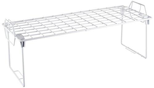Medium Cupboard (Whitmor Wire Grid Stacking Shelf Medium)