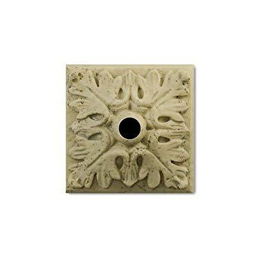 Lauderdale Tile Medallion Bianco ()