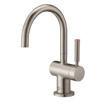InSinkErator F-H3300SN Indulge Modern Instant Hot Water Dispenser Faucet, Satin Nickel
