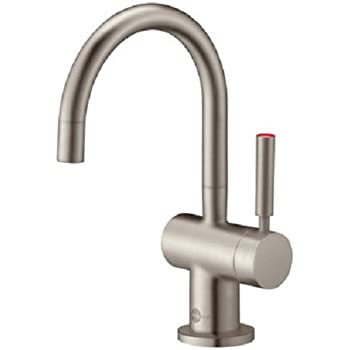 Incroyable InSinkErator F H3300SN Indulge Modern Instant Hot Water Dispenser Faucet,  Satin Nickel