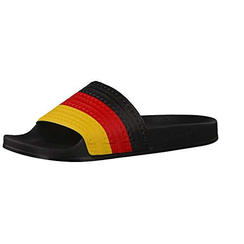 Basses rouge Adidas Noir Mixte jaune Adulte Adilette Chaussures Soleil Flags H0wq0tT