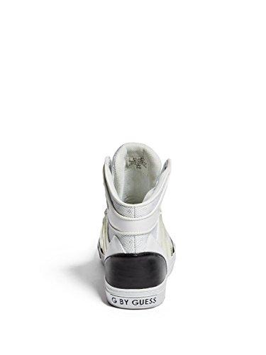 Mode G Baskets Blanc by lacets Femme à Otrend Bas GUESS qtt6Wg