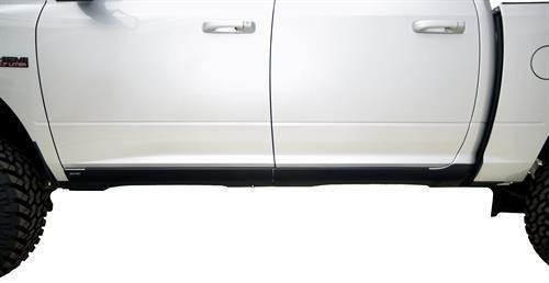 Bushwacker 14067 Trail Armor Rocker Panel for Chevrolet Crew Cab (Black, Pair)