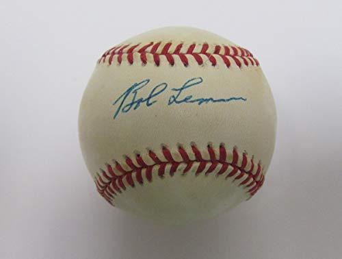Bob Lemon 1976 HOF Signed/Autographed OAL Baseball JSA 138706 (Oal Baseball Ball)