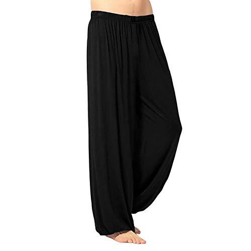 Unie Rue Quotidiens Confortable Jiameng Loisirs Sport Training Sauvage Vêtement Yoga Pantalons En Noir Pantalon Respirant Pants Vrac Homme Couleur De a4qnU4Yw6