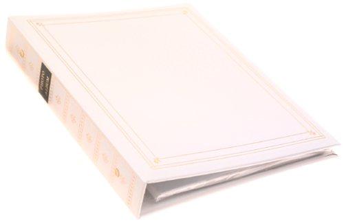 Pioneer APS 3-Ring Bi-Directional Le Memo Album, White APS247 WHITE PIAPS247WT