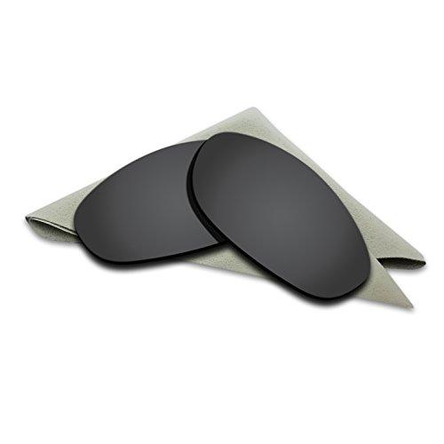Black Polarized Lenses Replacement for Oakley Monster Dog Sunglasses
