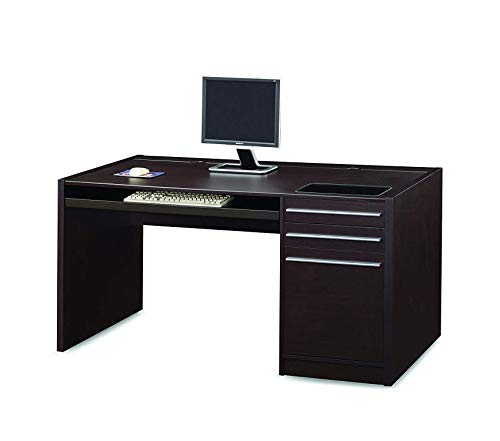 Wood & Style Office Home Furniture Premium Ontario Connect-It Computer Desk Cappuccino