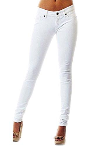blanco Mujer Vaqueros SA para Fashions OxZCwRCq0