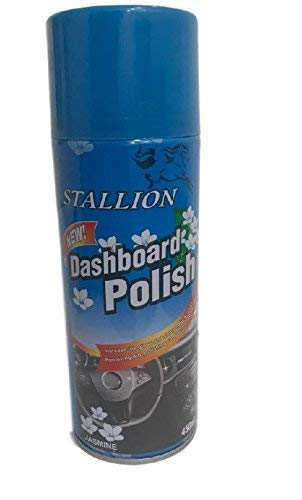 SARTE F1 Wax Polish Spray and Shiner for Leather, Dashboard, Tyres 450 ml