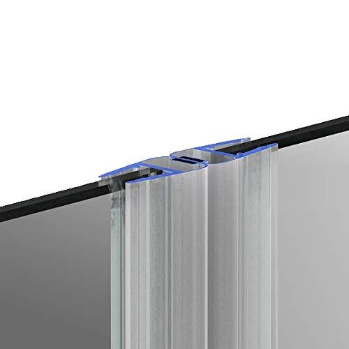 200cm M12 DUSCHDICHTUNG Magnetdichtung f/ür 5mm// 6mm// 8mm Glasst/ärke Wasserabweiser Duschdichtung DPD Schwallschutz Duschkabine Magnetduschdichtung .one-bath