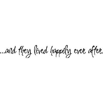 Amazoncom And They Lived Happily Ever Afterlove Wall Quote