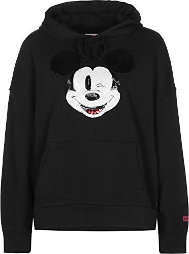 ® Graphic À Levi's Sweat Mickey Oversized Capuche Noir Mouse W rxCQedWBo