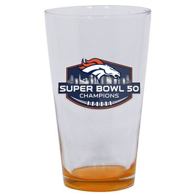 Denver Broncos Super Bowl 50 Champions 16oz. Highlight Mixing Glass ()