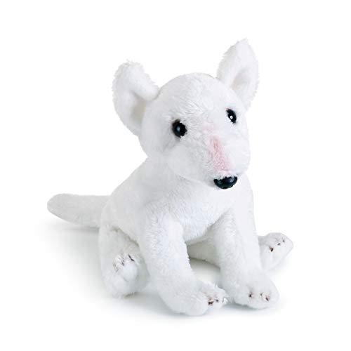 - DEMDACO White Bull Terrier Children's Plush Beanbag Stuffed Animal Toy