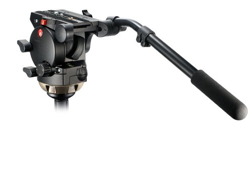 Manfrotto 526 Pro Video Fluid Head w/Adjustable 3 Step Drag Control by Manfrotto