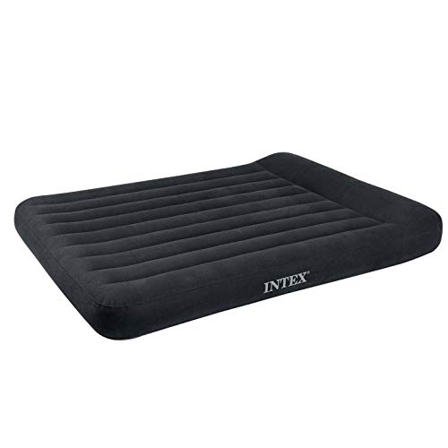 Intex Dura-Beam Series Pillow Rest Classic Airbed with Internal Pump, Full
