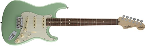 Jeff Beck Noiseless Pickups - Fender Jeff Beck Stratocaster, Rosewood Fretboard - Surf Green